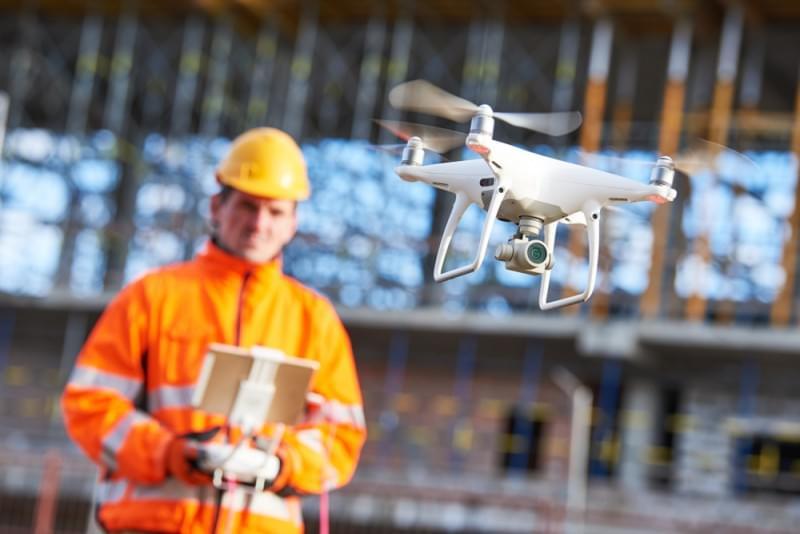 Drones - Inovação na Construção Civil
