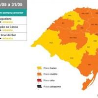 Na 3ª rodada do Distanciamento Controlado, três regiões passam de laranja para bandeira amarela