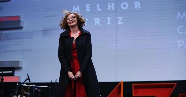 Vimaj Malhas presente na noite de premiação do 47º Festival de Cinema de Gramado