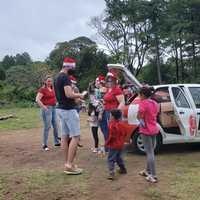 Ação solidaria de Natal da Ello