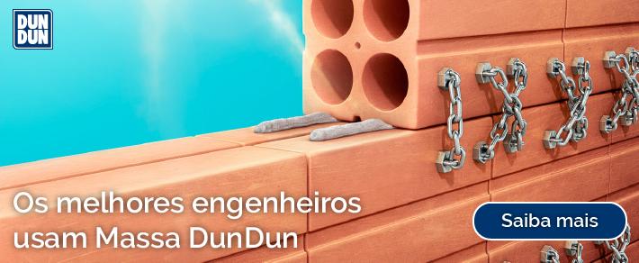Os melhores Engenheiros usam Massa DunDun - Conheça