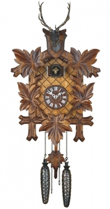Relógio Cuco tradicional eletrônico  alemão
