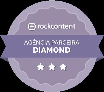 selo parceiro diamond rock content