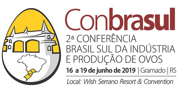2a Conbrasul Ovos 2019: Gramado será a capital internacional da avicultura de postura de 16 a 19 de junho