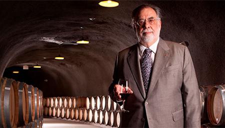 Francis Coppola e seus vinhos