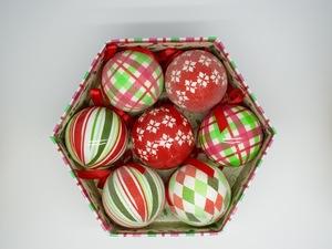 Bolas de Natal Scottisch Christmas 7 Bolas