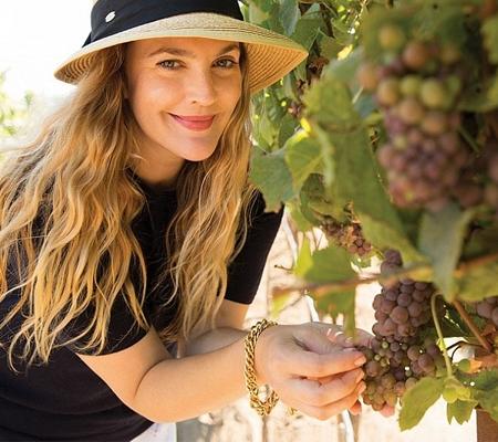 Vinhos da atriz Drew Barrymore