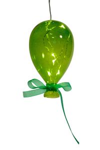 Balão em Cristal Verde Pequeno