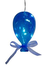 Balão em Cristal Azul Pequeno
