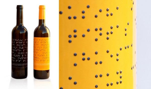 Vinhos com rótulos em braile - Lazarus Wine