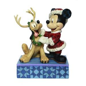 Mickey e Pluto no Natal
