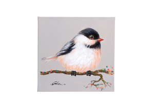 Quadro Birds Grey