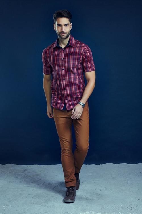 Camisa Elegance Xadrez M.POLLO