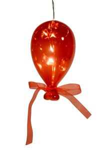 Balão em Cristal Vermelho Pequeno