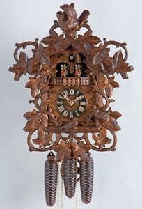 Relógio cuco mecânico alemão musical