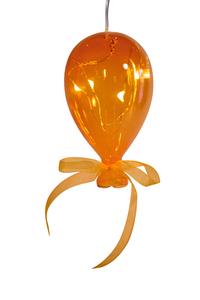 Balão em Cristal Laranja Pequeno
