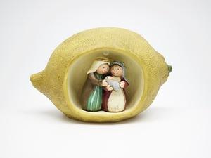 Mini Sagrada Família Limão