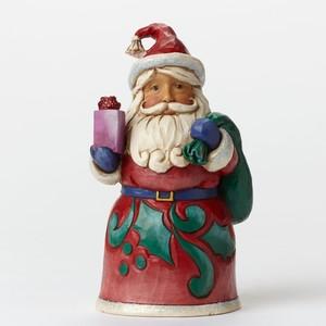 Mini Papai Noel com Brinquedo