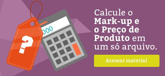 Banner - Calcule o Markup e o preço de produto em um só arquivo