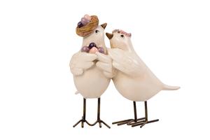 Pássaros Albert e Lisa