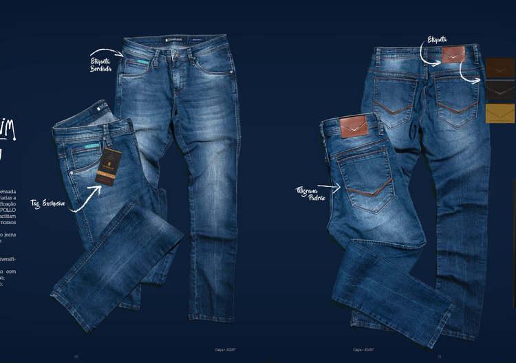 M.Pollo Coleção de Inverno Jeans