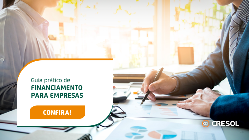 Banner - Guia prático de financiamento para empresas