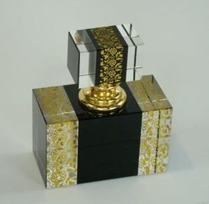 Perfumeiro de Cristal Gold