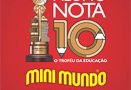 Aluno Nota 10: Oscar da Educação ocorre dia 17 de março em Gramado