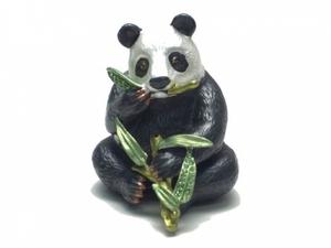 Porta jóias panda em estanho