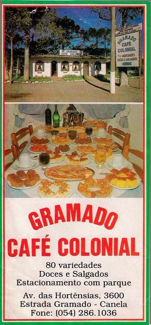 Gramado Café Colonial: Tradição e qualidade.