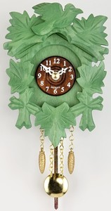 Miniatura de Relógio Cuco Clássico Verde