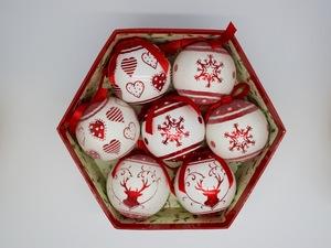 Bolas Romantic Christmas 7 Bolas