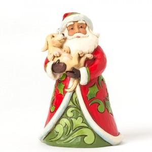 Mini Papai Noel com Pet