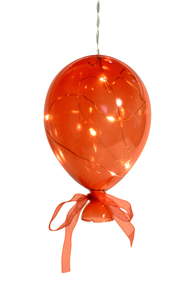 Balão em Cristal Vermelho Médio