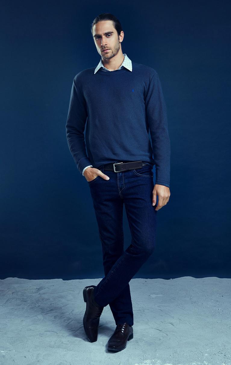 Suéter Elegance Azul M.Pollo