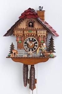 Relógio cuco chalé alemão