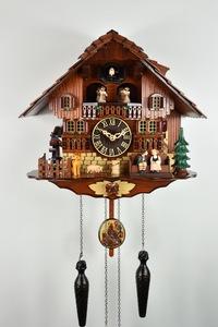 Relógio Cuco Alemão Chalé Eletronico