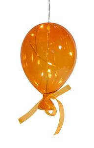Balão em Cristal Laranja Médio
