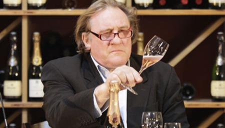 GÉRARD DEPARDIEU vinho
