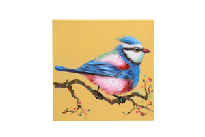 Quadro Birds Yellow