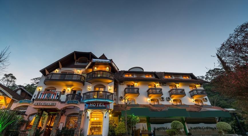 O Hotel em Gramado
