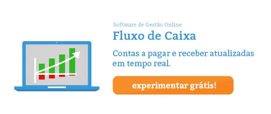 software de gestão online Fluxo de Caixa