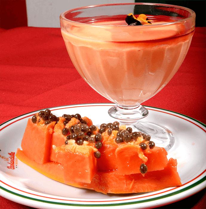 Mamão Papaya com Cassis