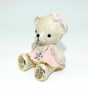 Porta-Jóias Teddy Rose
