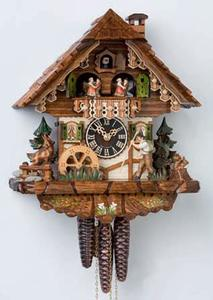 Relógio cuco mecânico alemão Chalé