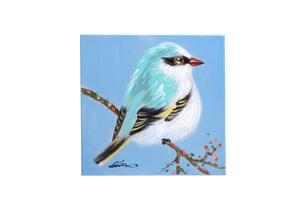 Quadro Birds Blue