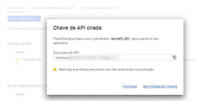 Chave de API