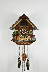 Relógio Cuco Alemão Chalé Eletrônico