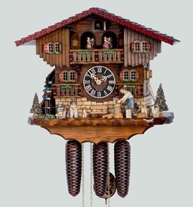 Relógio Cuco Alemão Chalé Mecanico
