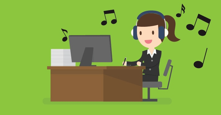 Ouvir música no trabalho aumenta ou atrapalha a produtividade?